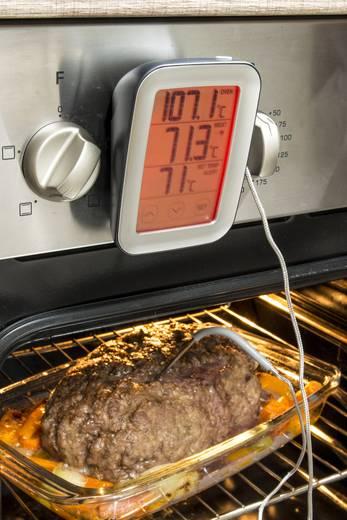 Sunartis ME216 Küchen-Thermometer Überwachung der Kerntemperatur, Kabelsensor, Automatisches Abschalten, Alarm
