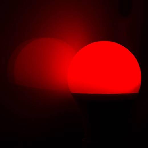 Heitronic LED E27 Glühlampenform 7.5 W = 50 W RGBW (Ø x L) 60 mm x 108 mm EEK: A+ colorchanging, dimmbar 1 St.