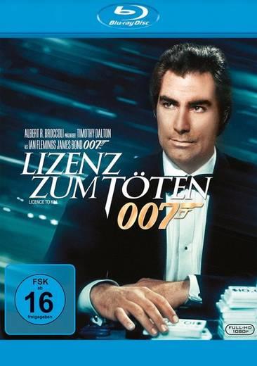 blu-ray 007 (16) Lizenz zum Töten FSK: 16