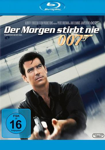 blu-ray James Bond 007 Der Morgen stirbt nie FSK: 16