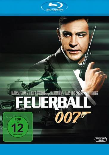 blu-ray James Bond 007 Feuerball FSK: 16