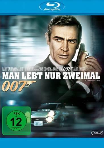 blu-ray James Bond 007 Man lebt nur zweimal FSK: 12