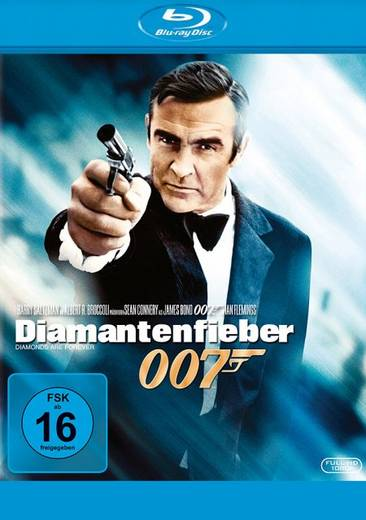 blu-ray James Bond 007 Diamantenfieber FSK: 16
