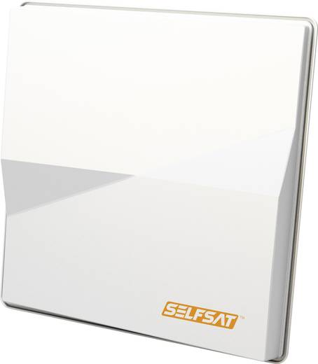 SelfSat Multifeed H50M Single SAT Antenne 80 cm Weiß