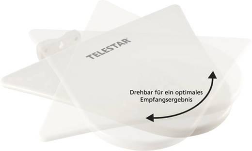 Telestar Antenna 10 Aktive DVB-T/T2-Dachantenne Außenbereich Verstärkung: 51 dB Weiß