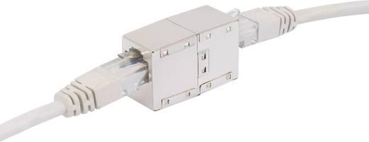 RJ45 Netzwerk Verlängerungskabel CAT 5e F/UTP 0.5 m Grau UL-zertifiziert Renkforce