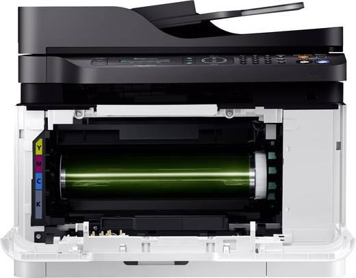 Samsung Xpress C480FW Farblaser-Multifunktionsdrucker A4 Drucker, Scanner, Kopierer, Fax LAN, WLAN, NFC, ADF