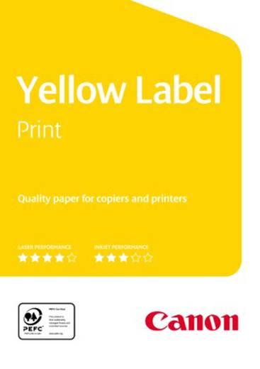 Universal Druckerpapier Canon Yellow Label Print 97002930 DIN A4 80 g/m² 500 Blatt Weiß
