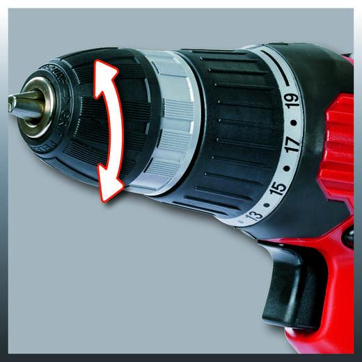 Einhell TH-CD 12-2 Akku-Bohrschrauber 12 V 1.1 Ah NiCd inkl. Akku, inkl. Koffer