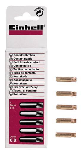 Einhell 1576200 Kontaktröhrchen 0,6 mm, 5 St. Schutzgas-Zubehör