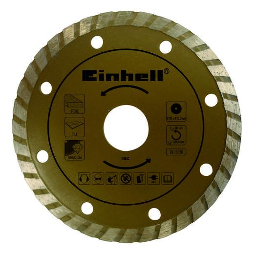 Diamanttrennscheibe Einhell 4502016 Durchmesser 110 mm Innen-Ø 22.2 mm 1 St.