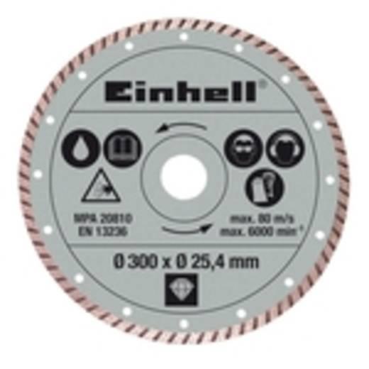 Einhell Diamanttrennscheibe 300 x 25.4 mm Turbo Radial-Fliesenschneid-Zubehör Einhell 4301178 1 St.