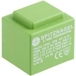 Transformátor do DPS Spitznagel SPK 0311515, 3 VA