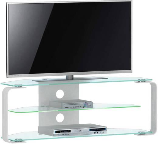 tv rack cu mr 110 jahnke aluminium glas aluminium glas. Black Bedroom Furniture Sets. Home Design Ideas
