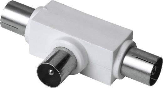 Hama Antennen-Verteiler Koax-Stecker - 2 Koax-Kupplungen Antenne