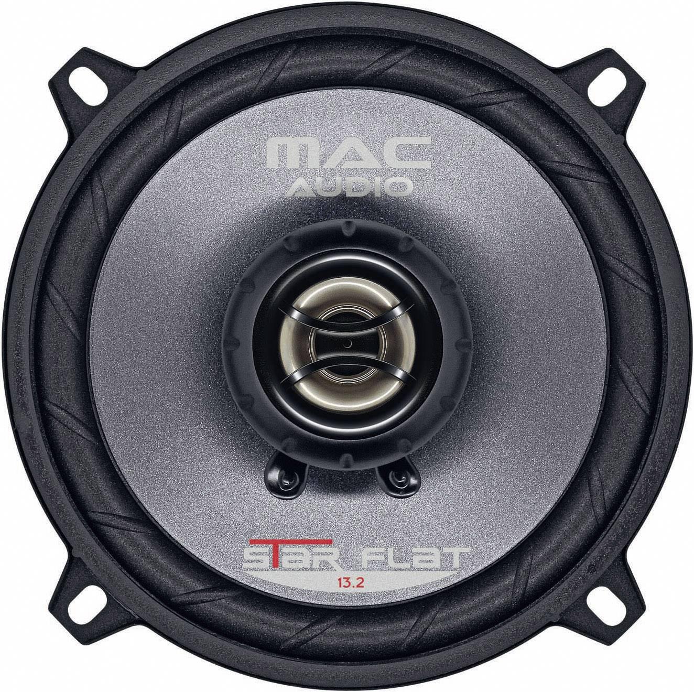 Mac Audio Pro Flat 13.2-2-Wege Koaxial System Einbaulautsprecher mit sehr geringer Einbautiefe