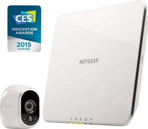 WLAN IP-Überwachungskamera-Set 5-Kanal mit 1 Kamera 1280 x 720 Pixel NETGEAR ARLO