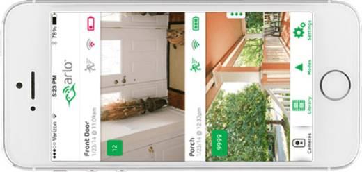 wlan ip berwachungskamera set 5 kanal mit 2 kameras 1280 x 720 pixel arlo arlo kaufen. Black Bedroom Furniture Sets. Home Design Ideas