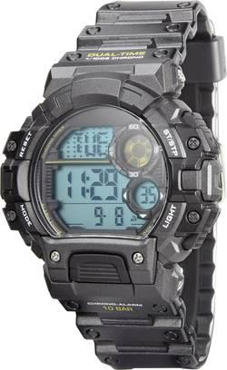 Outdoorové hodinky Renkforce YP13613-05, (Ø x v) 48 mm x 15 mm, antracitová