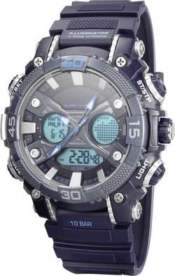 Outdoorové hodinky Renkforce YP12598-02, (Ø x v) 52 mm x 18 mm, materiál řemínku plast PU, modrá