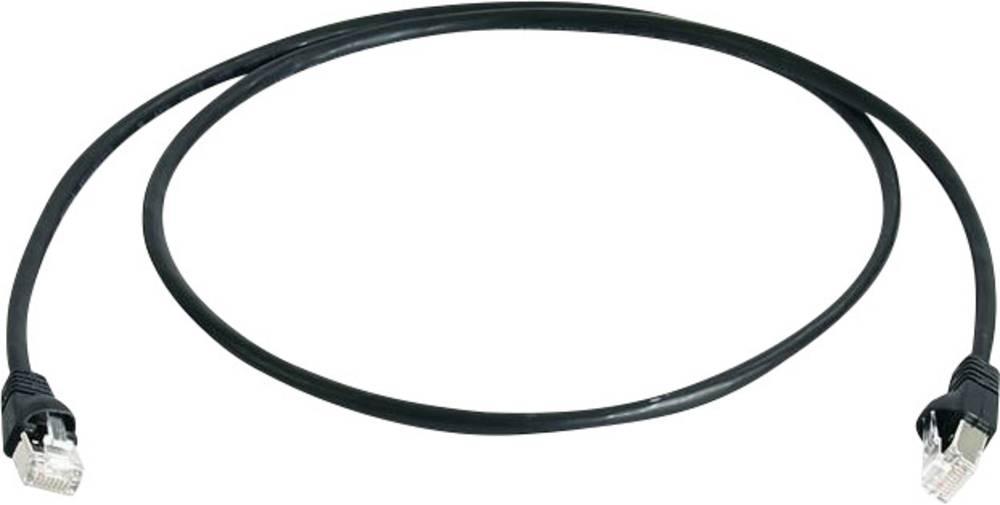 cavo di collegamento rj45 rete cat 6a s  ftp 0 25 m nero