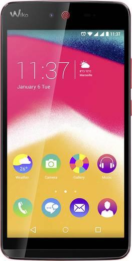 WIKO Rainbow Jam Smartphone Dual-SIM 16 GB () Koralle