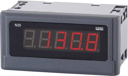 Lumel N25 T210100E0 Digitales Einbaumessgerät -50 bis +400 °C Einbaumaße 96 x 48 mm