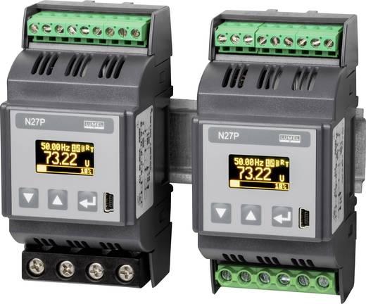 Lumel N27P 1100E0 1-Phasen DIN-Schienen-Multimeter 5 - 480 V0.005 - 6 A45 - 100 Hz±2.88 kW