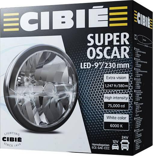 Fernscheinwerfer Super Oscar LED F LED CIBIE (Ø) 222 mm Schwarz, Chrom