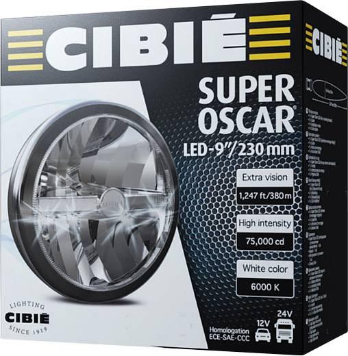Fernscheinwerfer, Positionslicht Super Oscar LED LED CIBIE (Ø) 222 mm Schwarz
