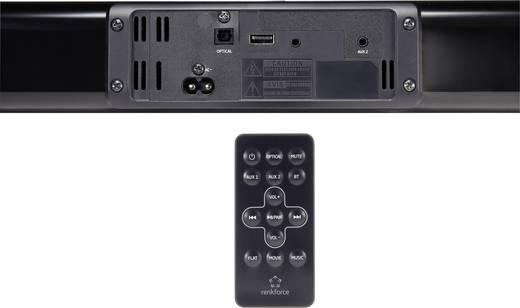 Soundbar Renkforce TB230 Schwarz Bluetooth®, NFC, Wandbefestigung