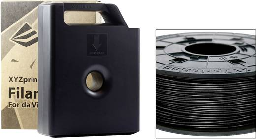 Filament XYZprinting ABS 1.75 mm Schwarz 600 g Cartridge