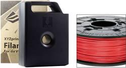 Vlákno pro 3D tiskárny XYZprinting RF10XXEU03B, ABS plast, 1.75 mm, 600 g, červená