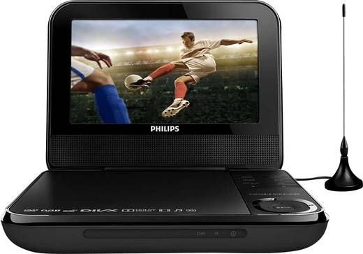 philips pd7025 tragbarer fernseher mit integriertem dvd player kaufen. Black Bedroom Furniture Sets. Home Design Ideas