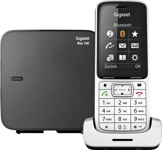 Gigaset SL450 Schnurloses Telefon analog Bluetooth, Freisprechen, Headsetanschluss, Optische Anrufsignalisierung Platin,