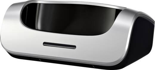 Schnurloses Telefon analog Gigaset SL450 Bluetooth, Freisprechen, Headsetanschluss, Optische Anrufsignalisierung Platin,