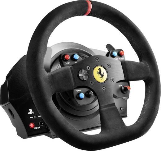 Lenkrad Thrustmaster T300 Ferrari Integral Alcantara Edition PlayStation 4 Schwarz inkl. Pedale