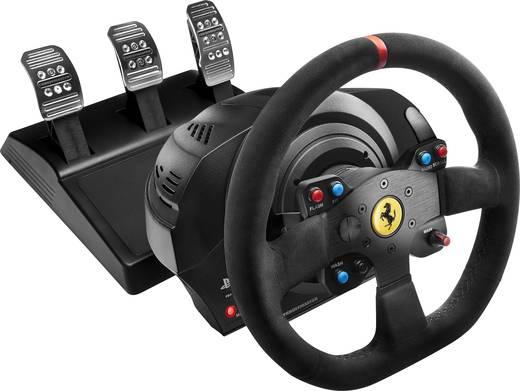 Thrustmaster T300 Ferrari Integral Alcantara Edition Lenkrad PlayStation 4 Schwarz inkl. Pedale