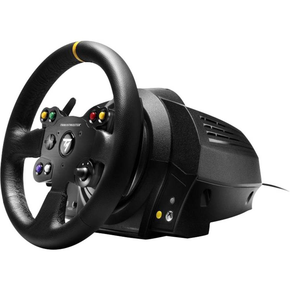 volante thrustmaster tx racing wheel leather edition pc xbox one nero incl pedale in vendita. Black Bedroom Furniture Sets. Home Design Ideas