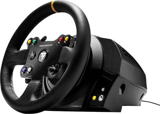 thrustmaster tx racing wheel leather edition lenkrad pc. Black Bedroom Furniture Sets. Home Design Ideas