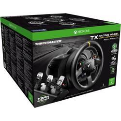 Thrustmaster TX Racing Wheel Leather Edition volant PC, Xbox One čierna vr. pedálov