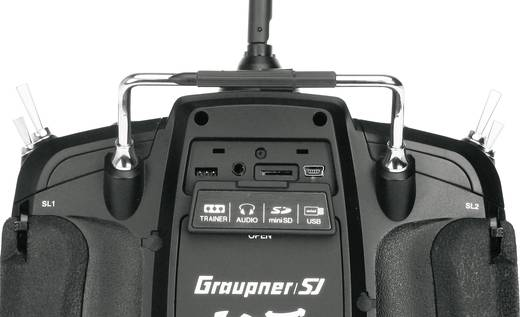 Graupner MZ-18 Hott Hand-Fernsteuerung 2,4 GHz Anzahl Kanäle: 9 inkl. Empfänger