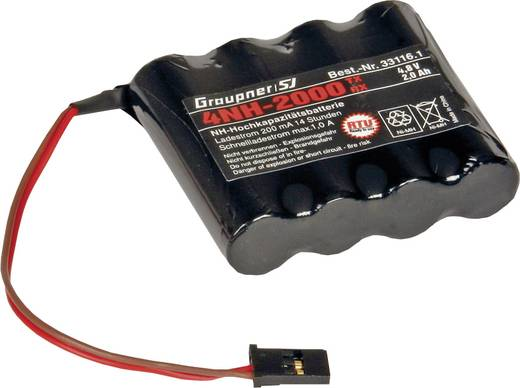 Graupner MX-16 Hand-Fernsteuerung 2,4 GHz Anzahl Kanäle: 8 inkl. Empfänger