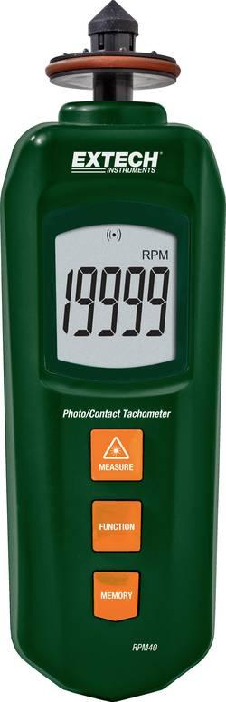 Image of Extech RPM40 Drehzahlmesser optisch, mechanisch 0.5 - 19999 U/min 5 - 99999 U/min Werksstandard (ohne Zertifikat)
