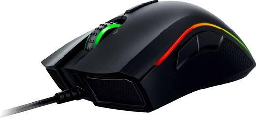 Razer Mamba Tournament Edition USB-Gaming-Maus Laser Beleuchtet, Maustasten Schwarz