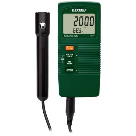 Elektrische Leitfähigkeit in Gewässern messen