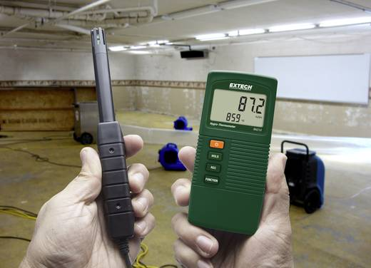 Extech RH210 Luftfeuchtemessgerät (Hygrometer) 10 % rF 95 % rF Taupunkt-/Schimmelwarnanzeige Kalibriert nach: Werksstand