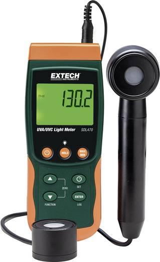 Extech SDL470 UV-Messgerät 2 - 20 mW/cm² Kalibriert nach Werksstandard (ohne Zertifikat)