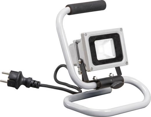 Smartwares Baustellen-Beleuchtung LED-Baustrahler 10.021.12 Grau LED fest eingebaut