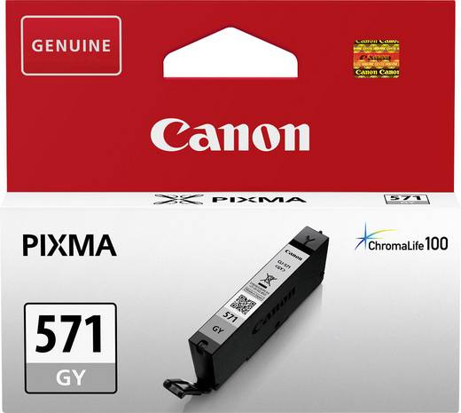 Canon Tinte CLI-571GY Original Grau 0389C001